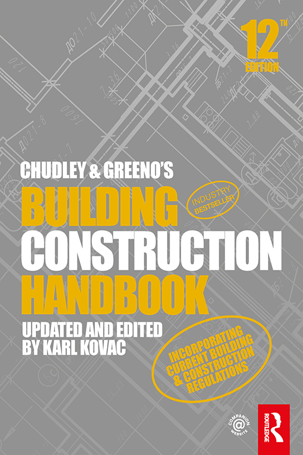 Building Construction Handbook cover