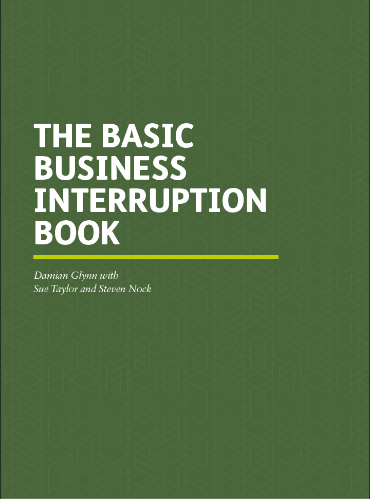 The Basic Business Interruption Book cover